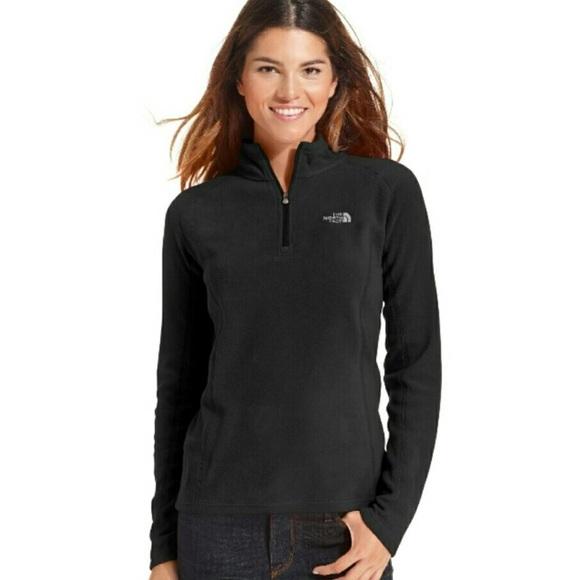 e1d3f0f83 The North Face Black Half-Zip Fleece Pullover